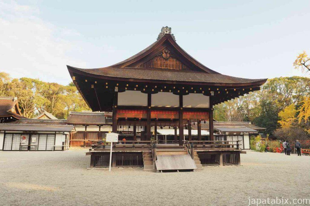 京都 下鴨神社 舞殿