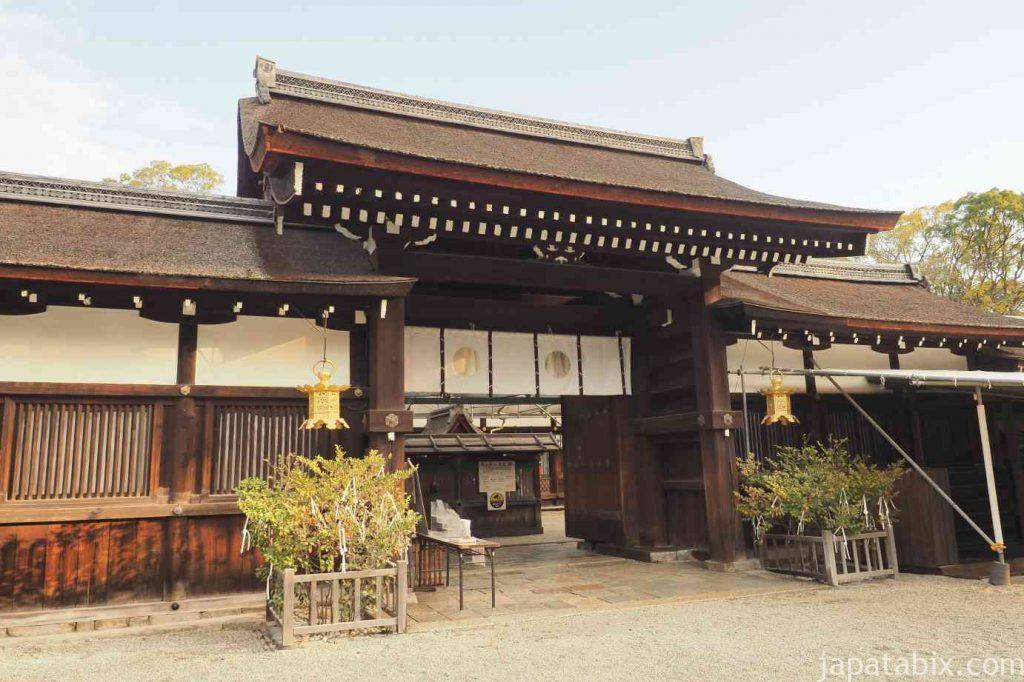 京都 下鴨神社 中門