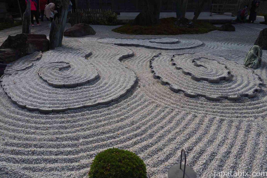 京都 圓光寺 奔龍庭