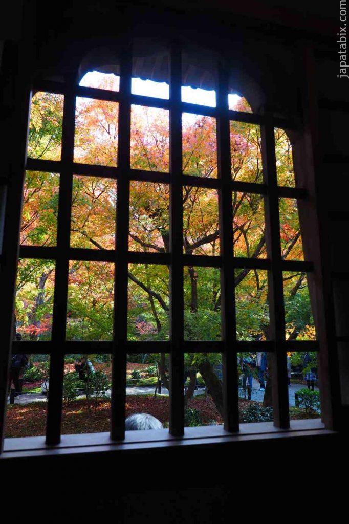 京都 圓光寺 紅葉 瑞雲閣から見る十牛之庭