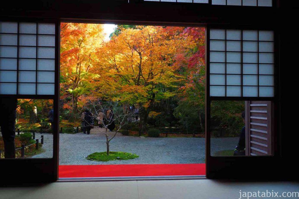 京都 圓光寺 紅葉