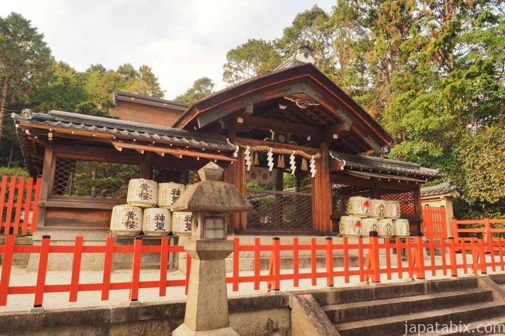 京都 建勲神社 神門