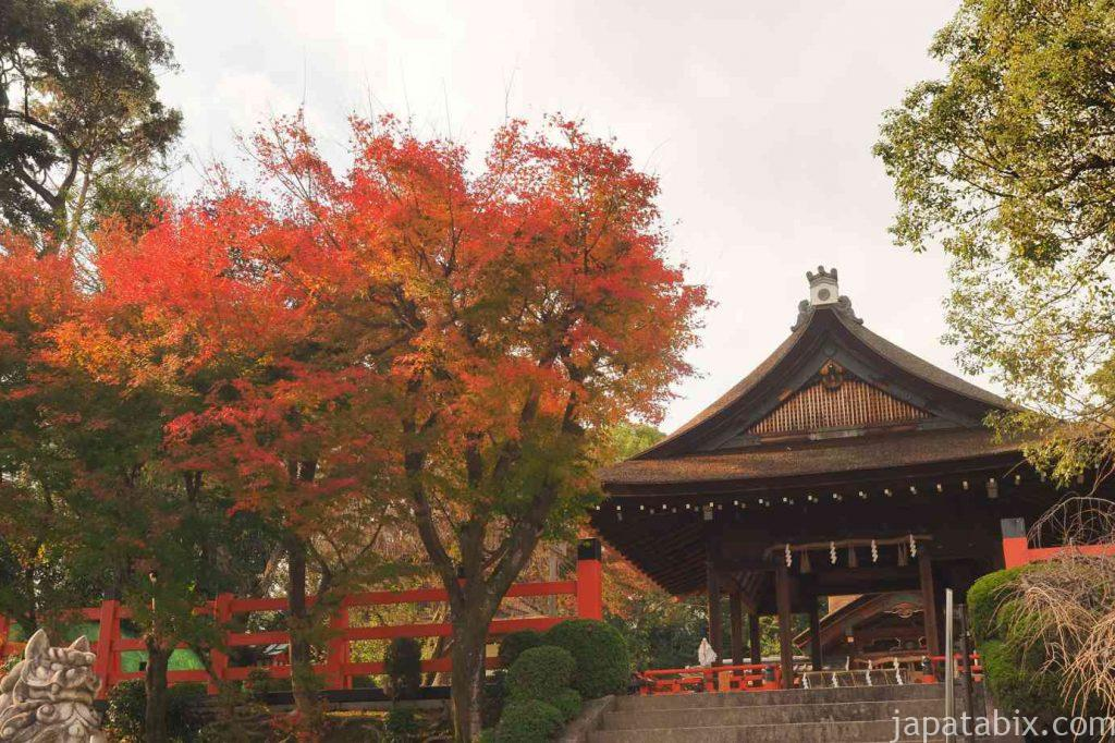 京都 建勲神社 紅葉