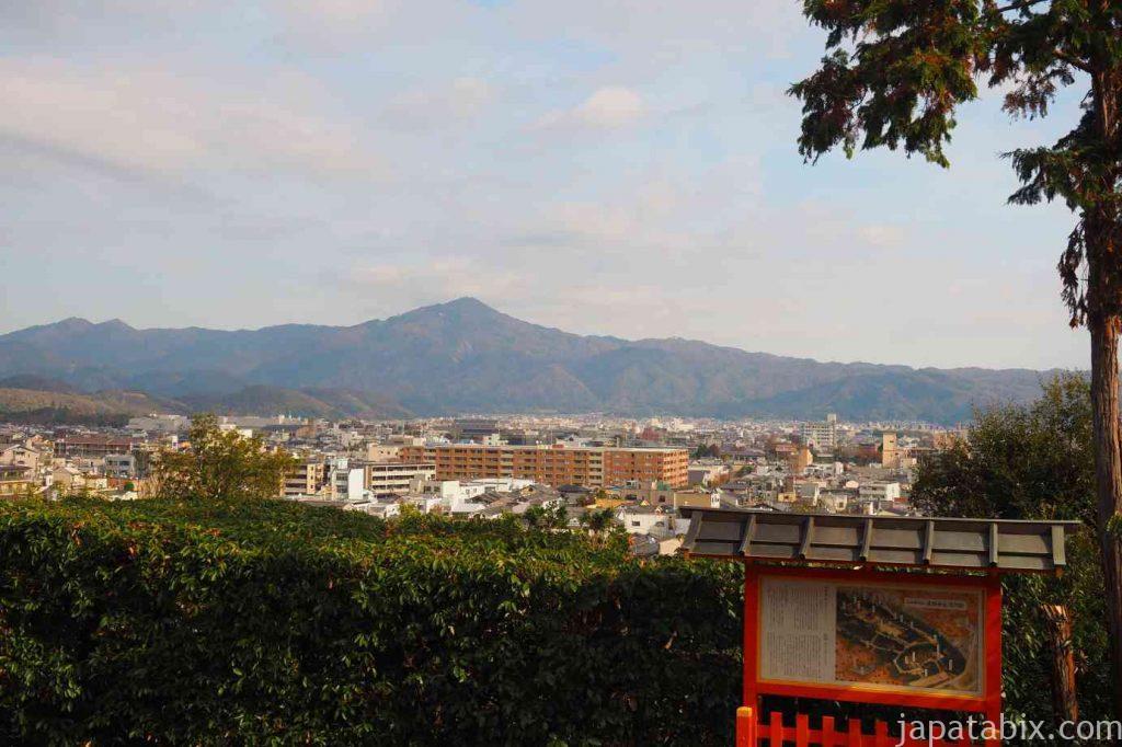 京都 建勲神社 船岡山からの眺望