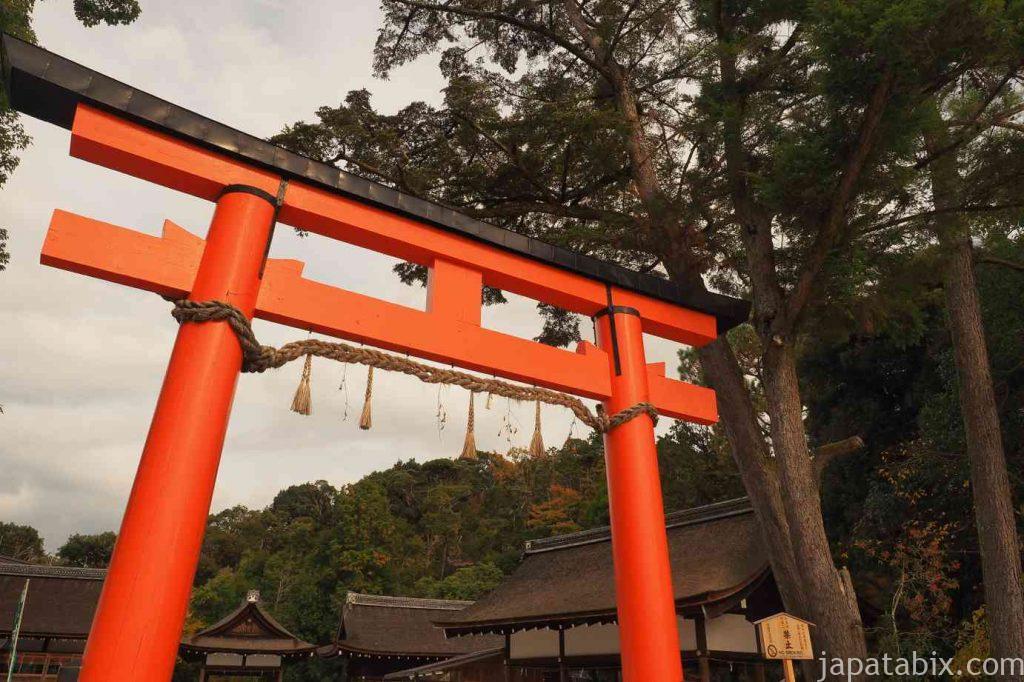 京都 上賀茂神社 鳥居