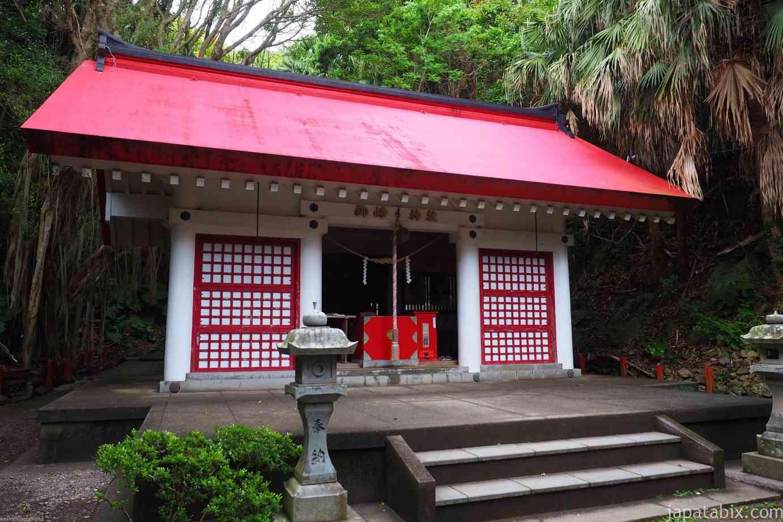 水曜どうでしょうロケ地巡礼 原付西日本 佐多岬 御崎神社