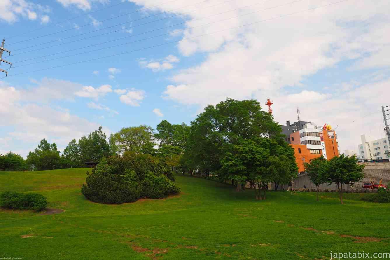 水曜どうでしょう聖地巡礼 平岸高台公園