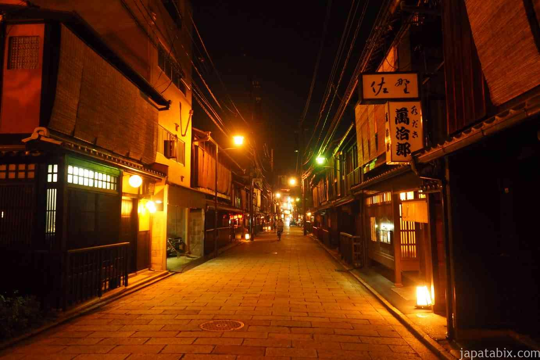 京都 夜の祇園