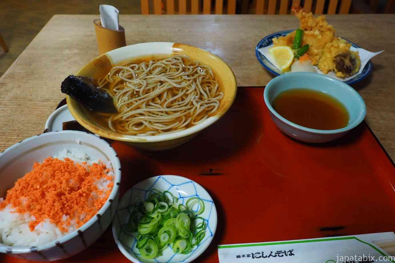 京都 祇園 総本家にしんそば松葉本店