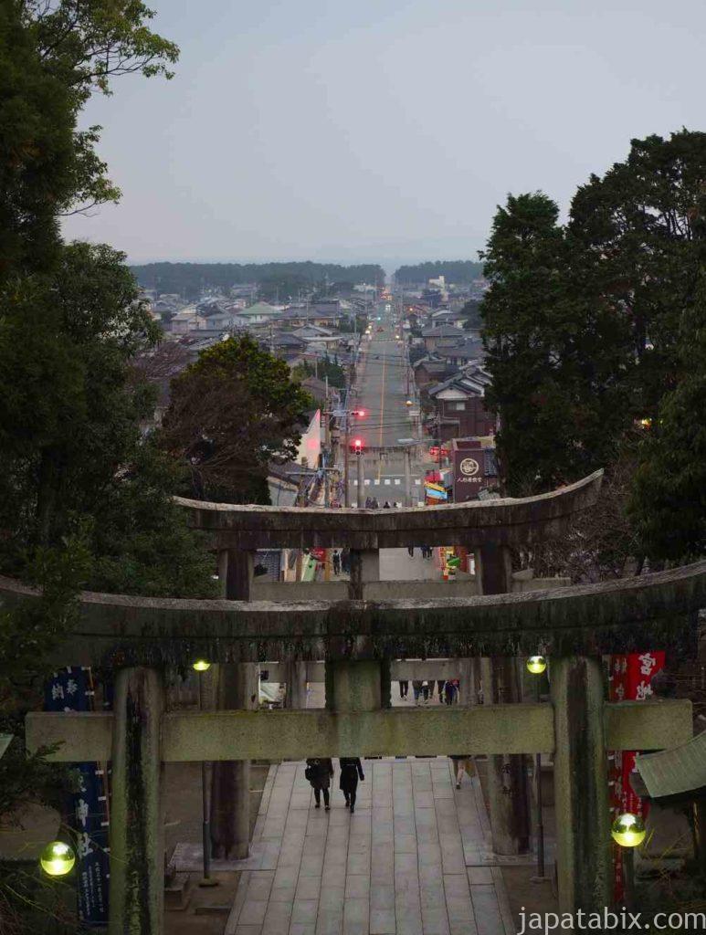 福岡 宮地嶽神社 光の道