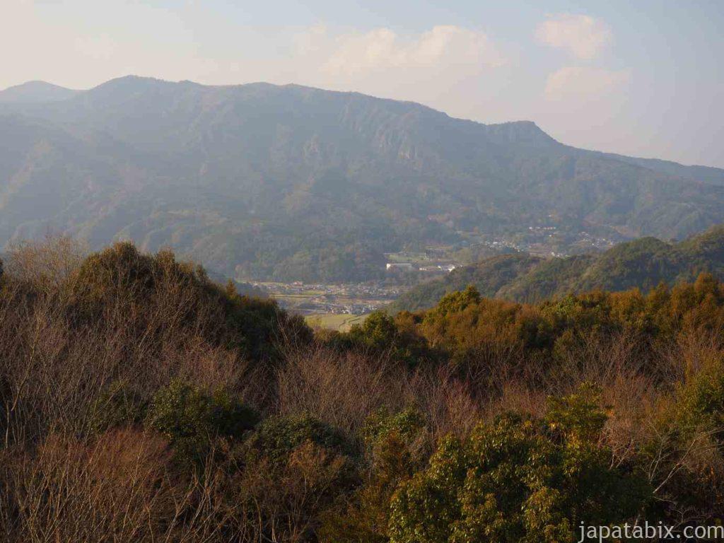 大分 羅漢寺 山頂からの眺め