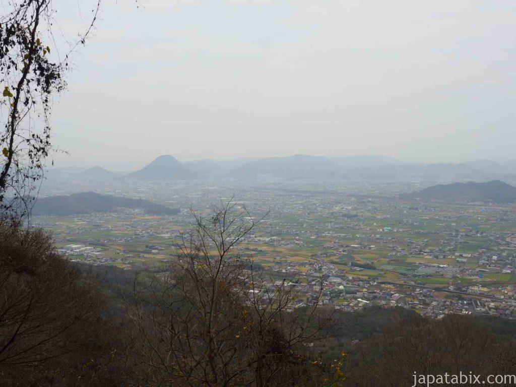 香川 金刀比羅宮 奥社からの眺め