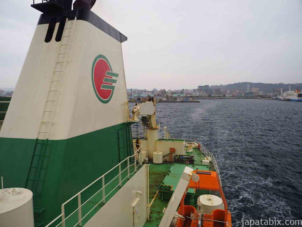 鹿児島港から硫黄島へ
