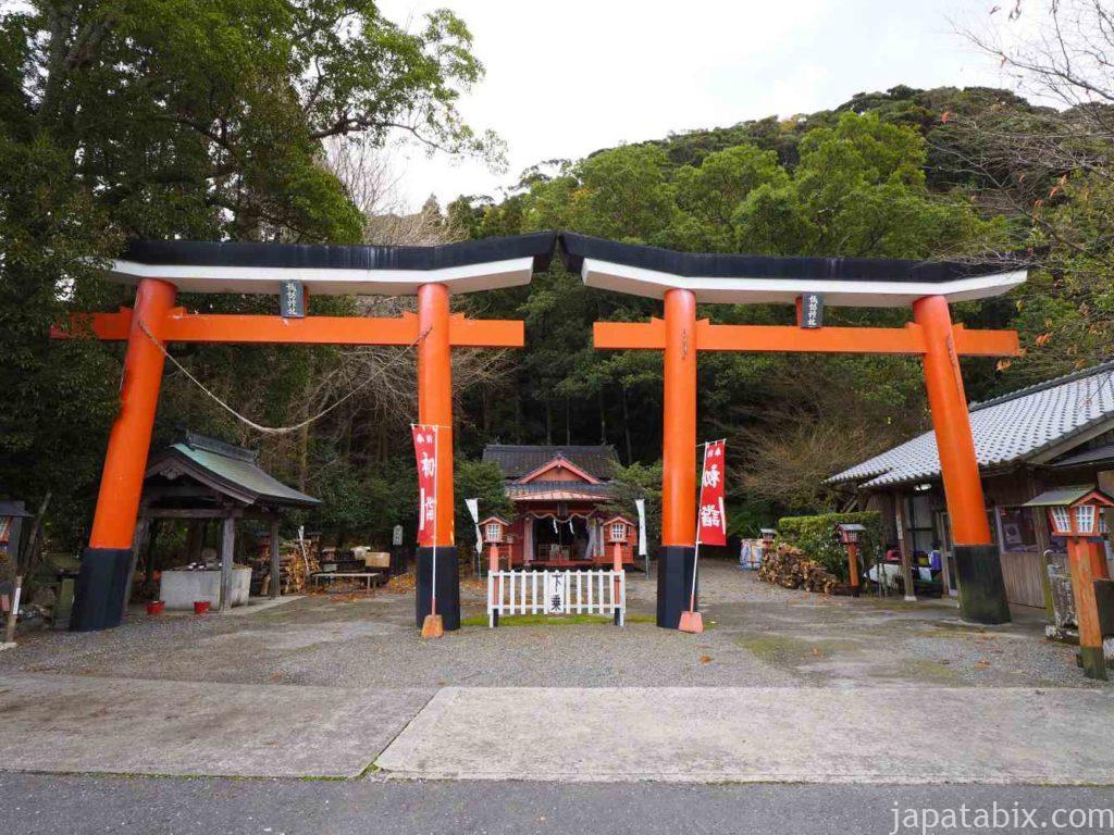 鹿児島 諏訪神社 並立鳥居