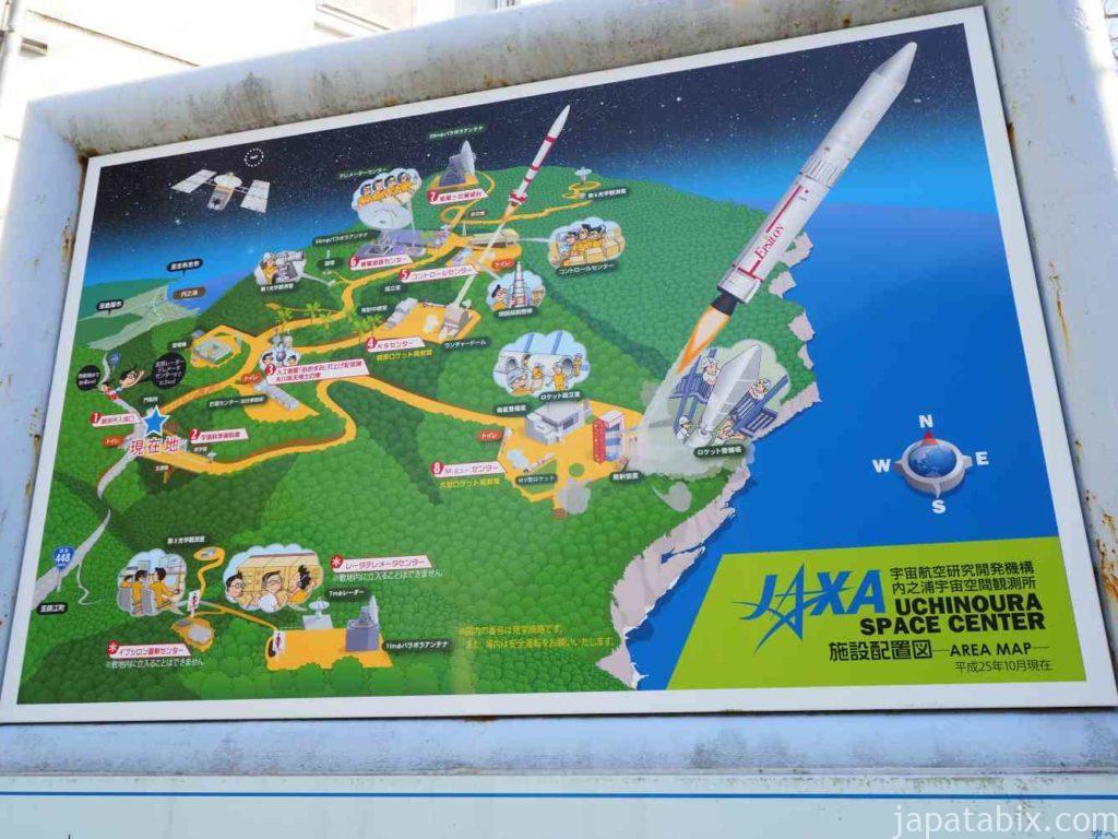 鹿児島 JAXA 内之浦宇宙空間観測所マップ