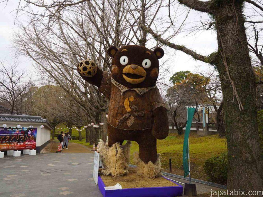 熊本県 熊本城 くまもん