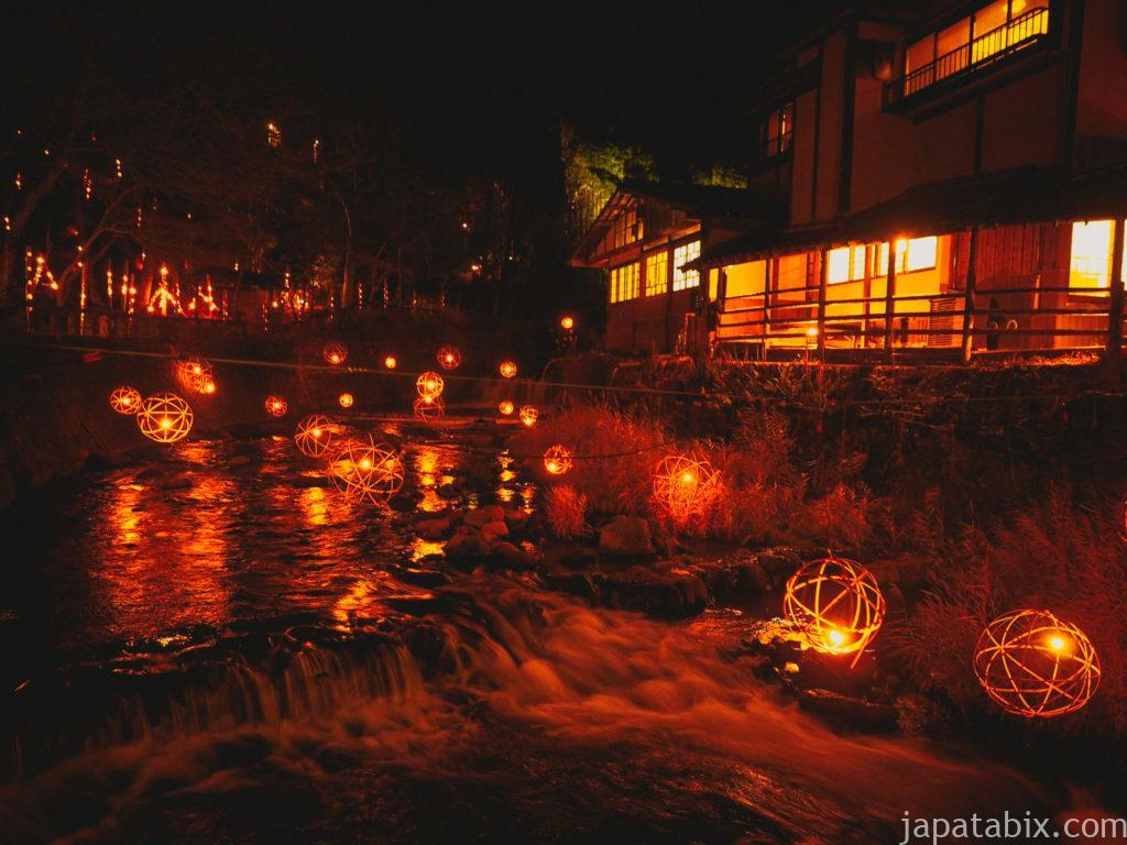 熊本 黒川温泉 湯あかり