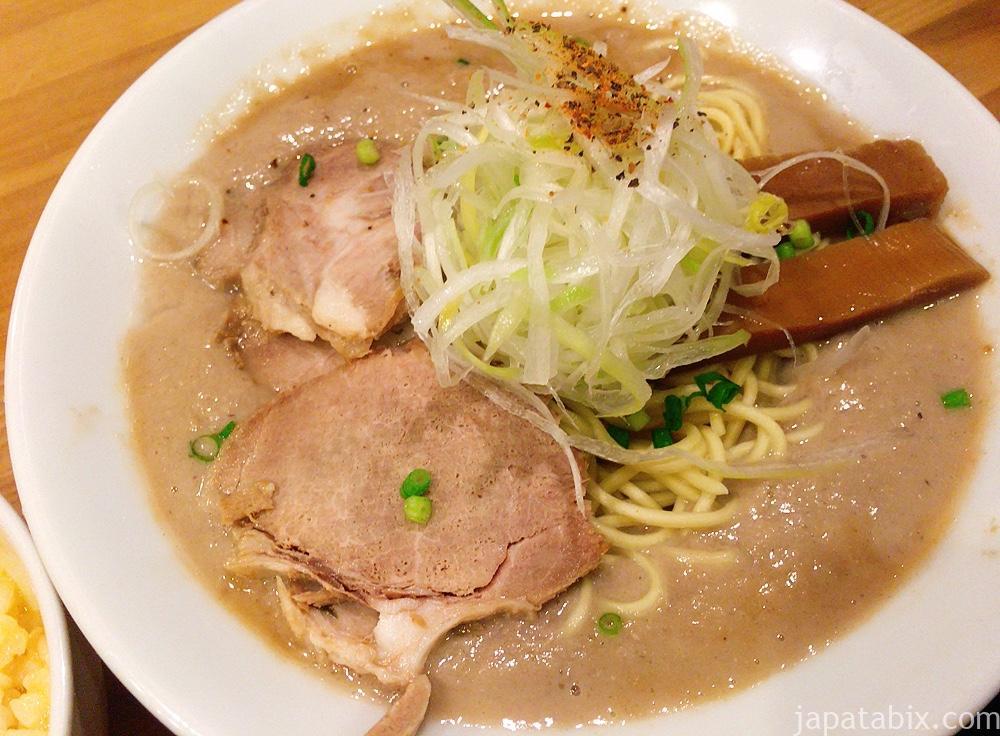 京都一乗寺 極鶏ラーメン