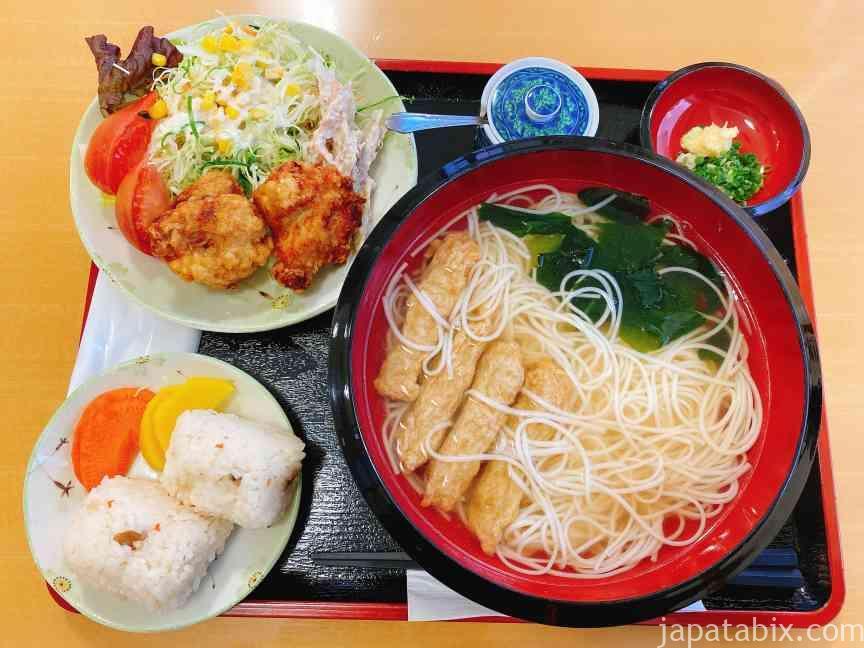 長崎 道の駅 夕陽が丘そとめ レストラン ラメール 素麺
