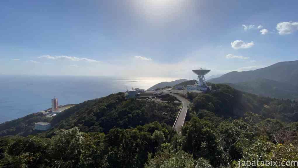 鹿児島 JAXA 内之浦宇宙空間観測所 衛星ヶ丘展望台からの眺望