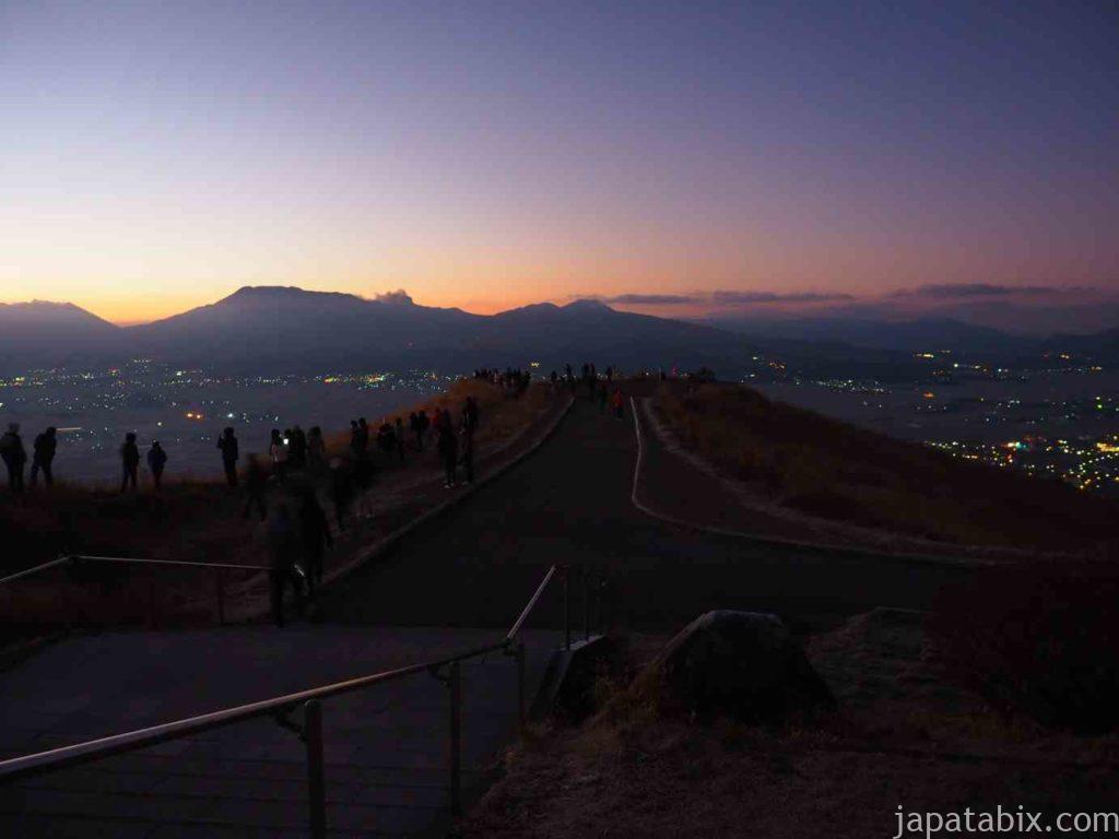 熊本 大観峰 初日の出