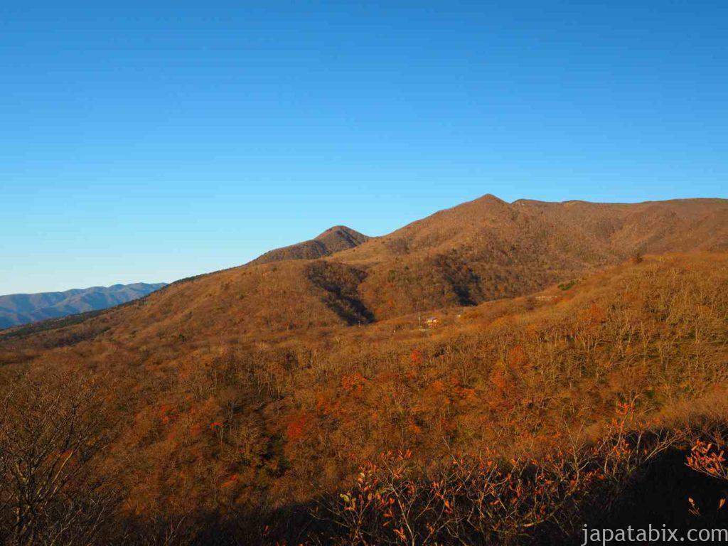 那須高原展望台からの眺望