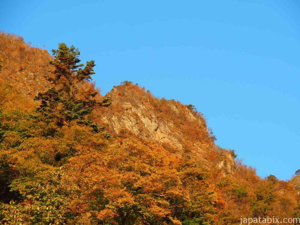 朝焼けの妙義山
