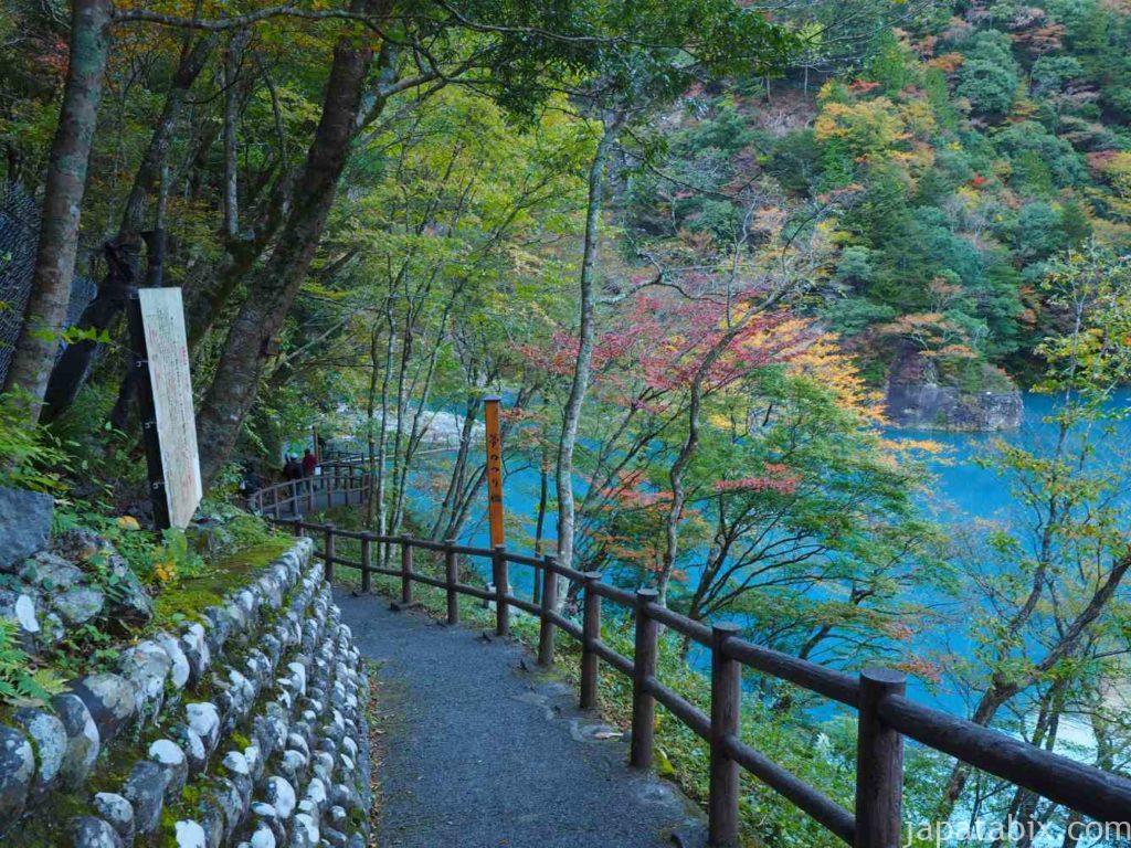 静岡県 寸又峡 夢の吊橋までの道のり