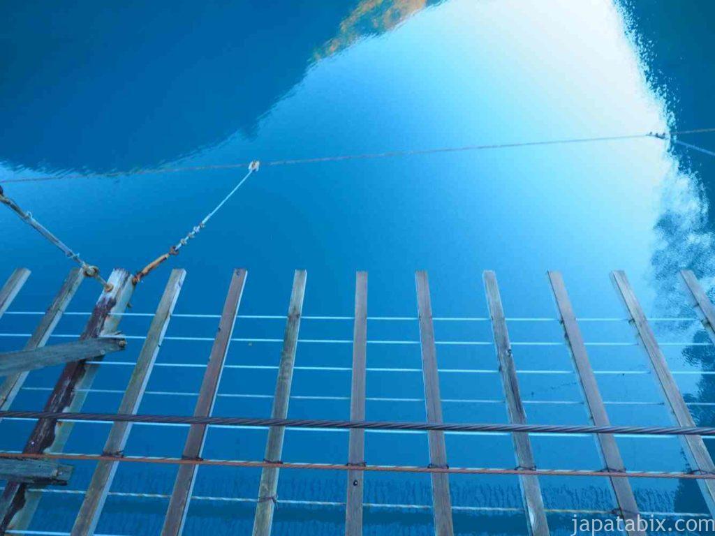 静岡県 寸又峡 夢の吊橋
