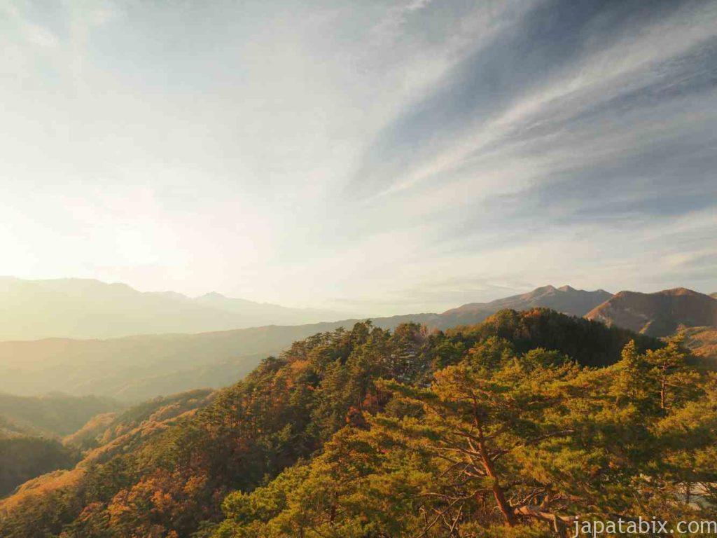 昇仙峡 展望台の眺望