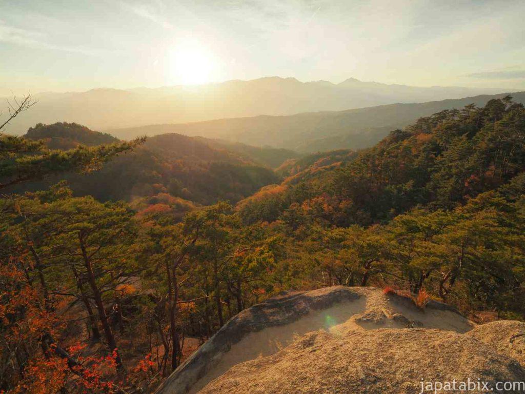 昇仙峡 弥三郎岳の眺望