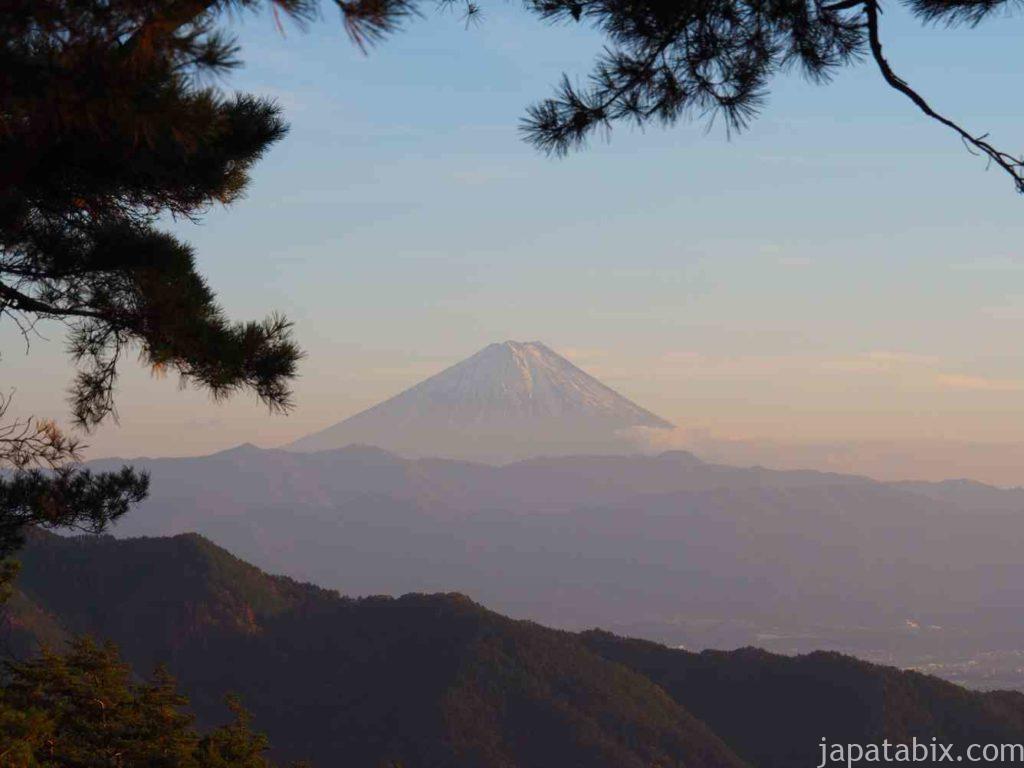 昇仙峡 浮富士