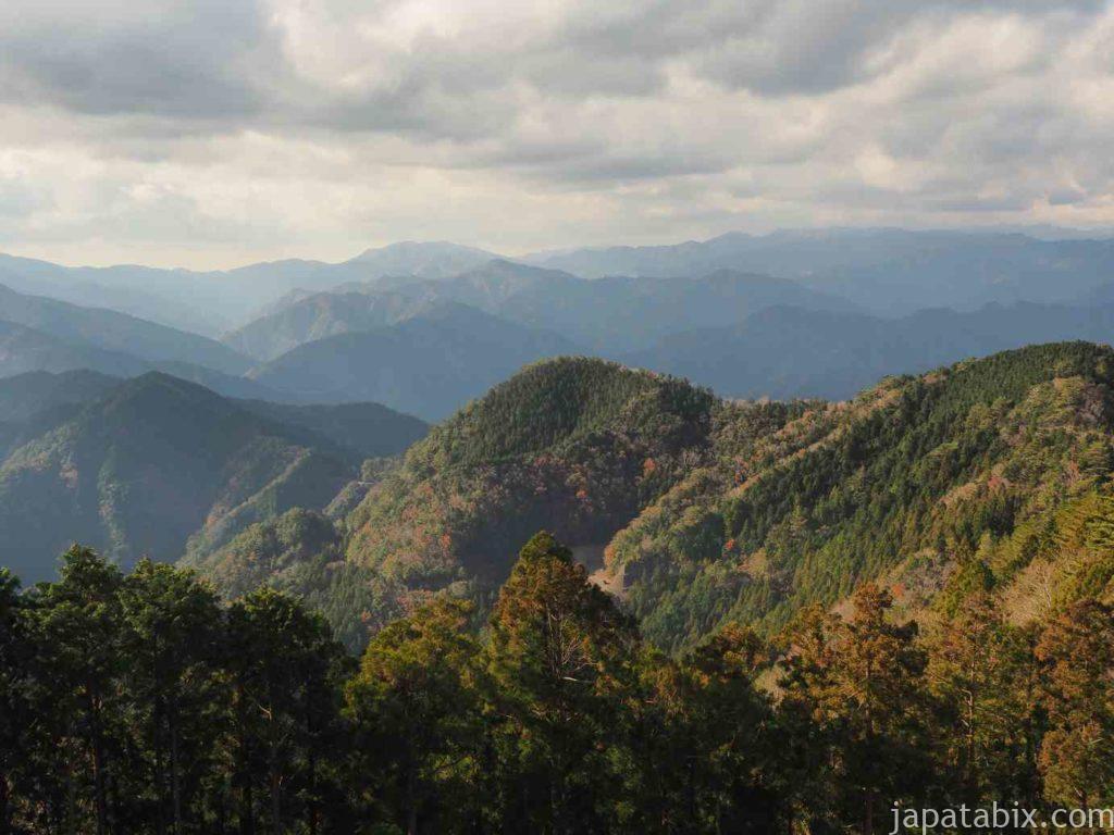 奈良 玉置神社からの眺望