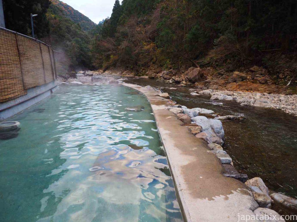 奈良 十津川村 上湯温泉