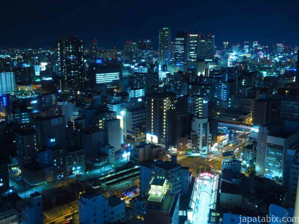 大阪 通天閣の夜景