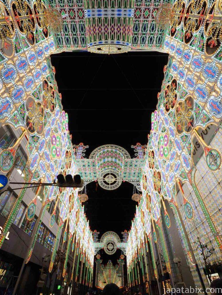 兵庫 昼の神戸ルミナリエ
