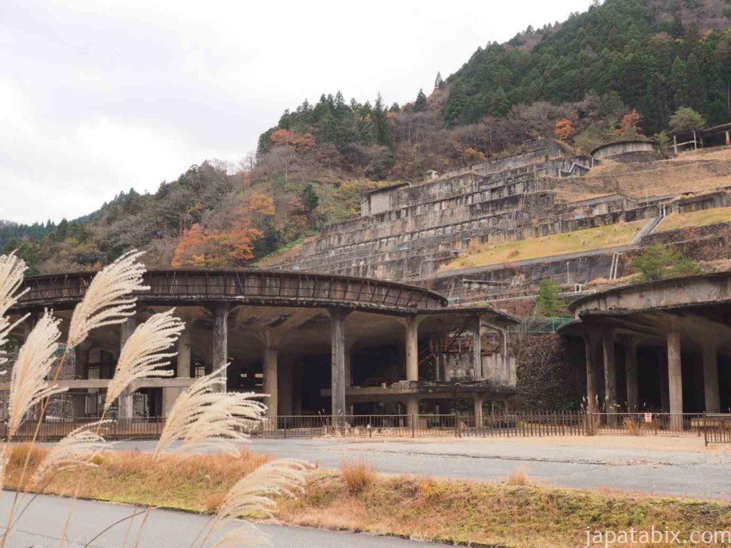 兵庫 神子畑選鉱場跡