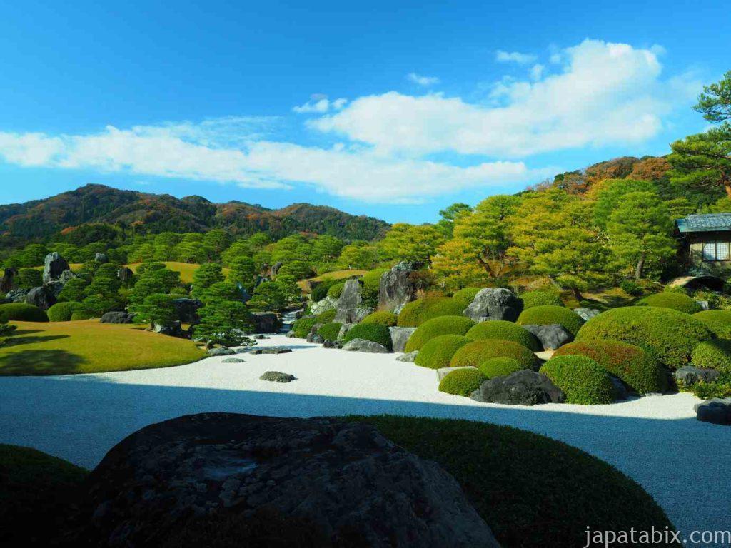 島根 足立美術館の庭園