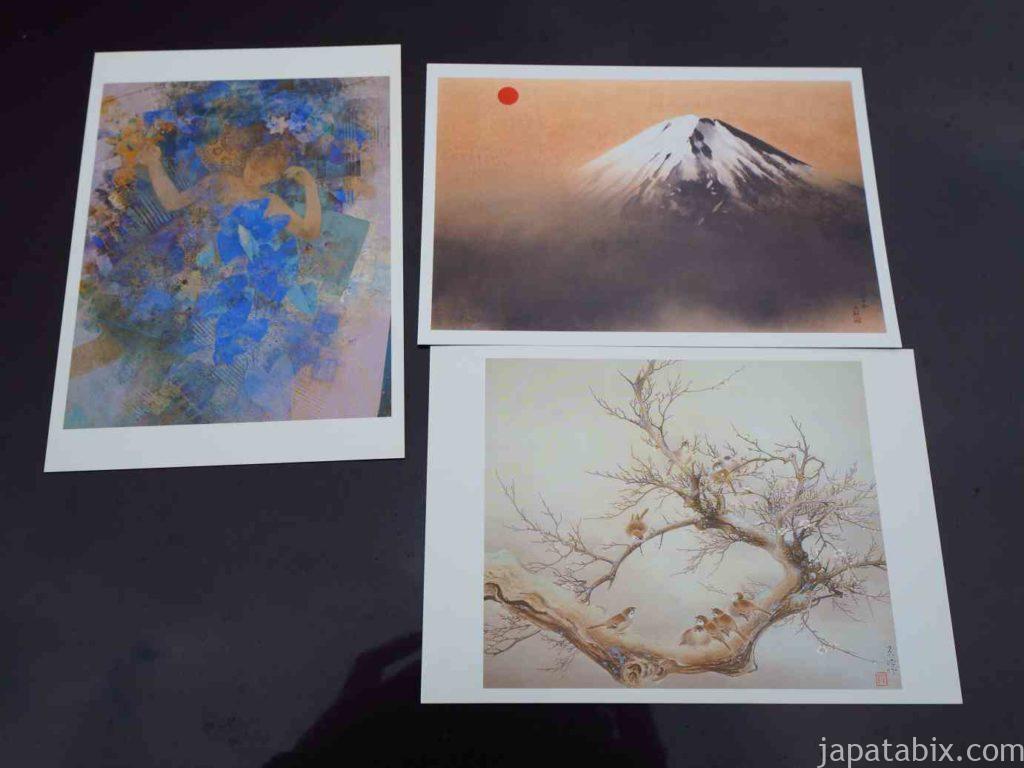 島根 足立美術館のポストカード