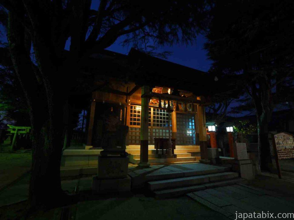 山口 大歳神社 夜景