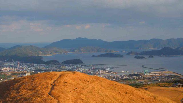 五島列島 福江島 鬼岳からみた絶景