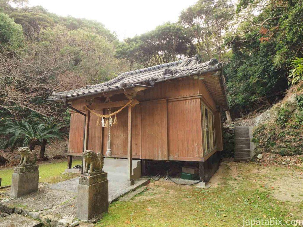 長崎 福江島 大山祇神社