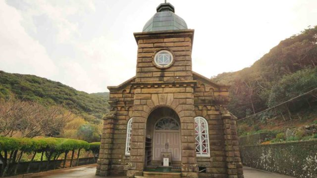 長崎 五島列島 頭ヶ島天主堂