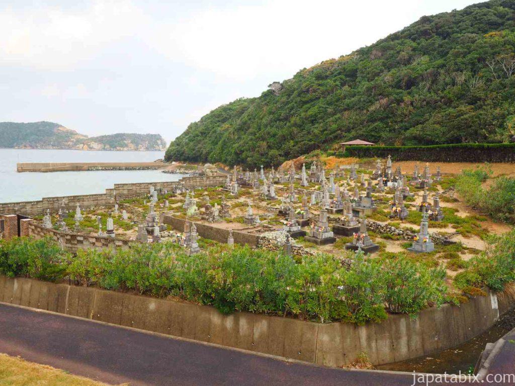 頭ケ島のキリシタン墓地