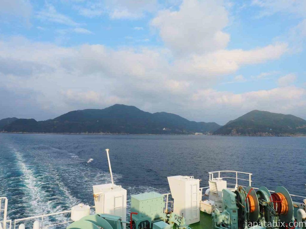 上五島町を離れる