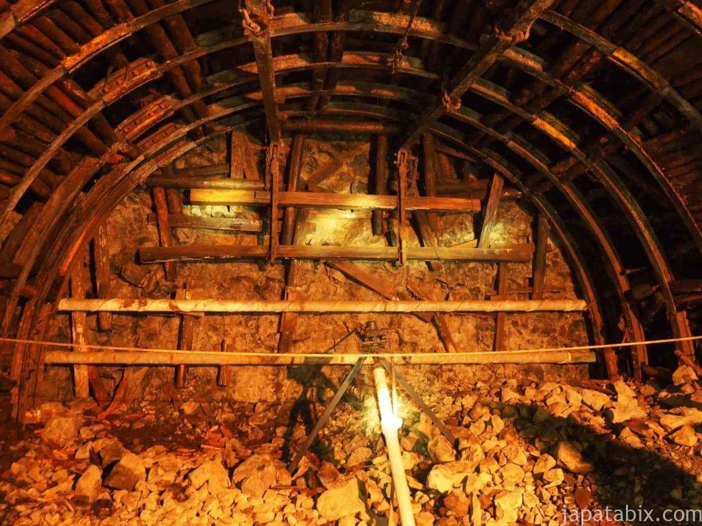 池島炭鉱坑内体験ツアー 坑内
