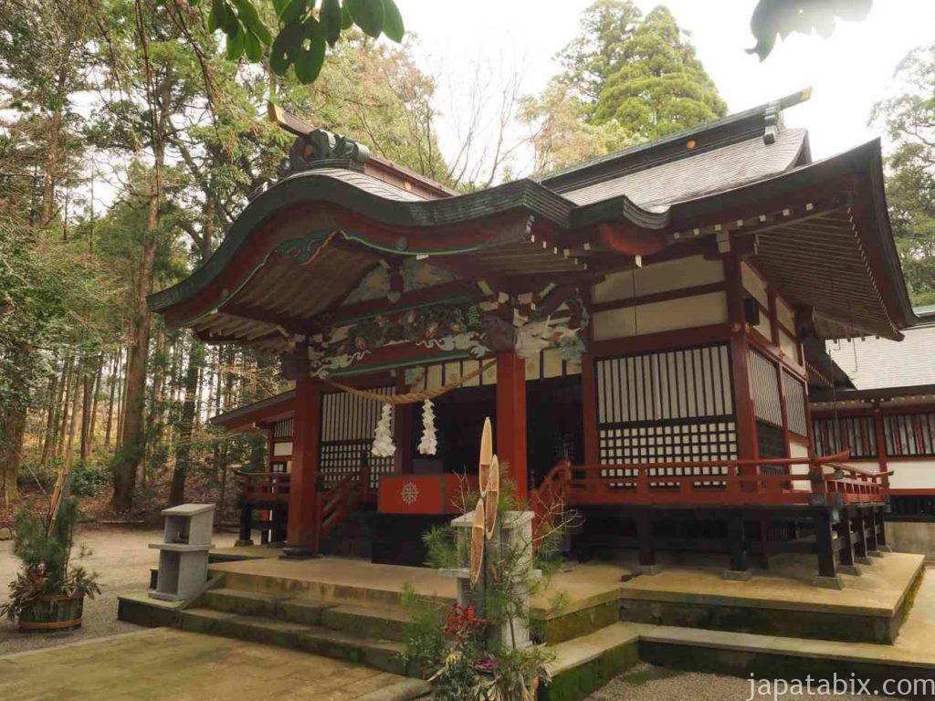 宮崎 霧島東神社 本殿