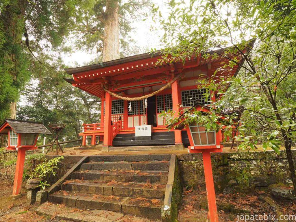 十根川神社 八村杉