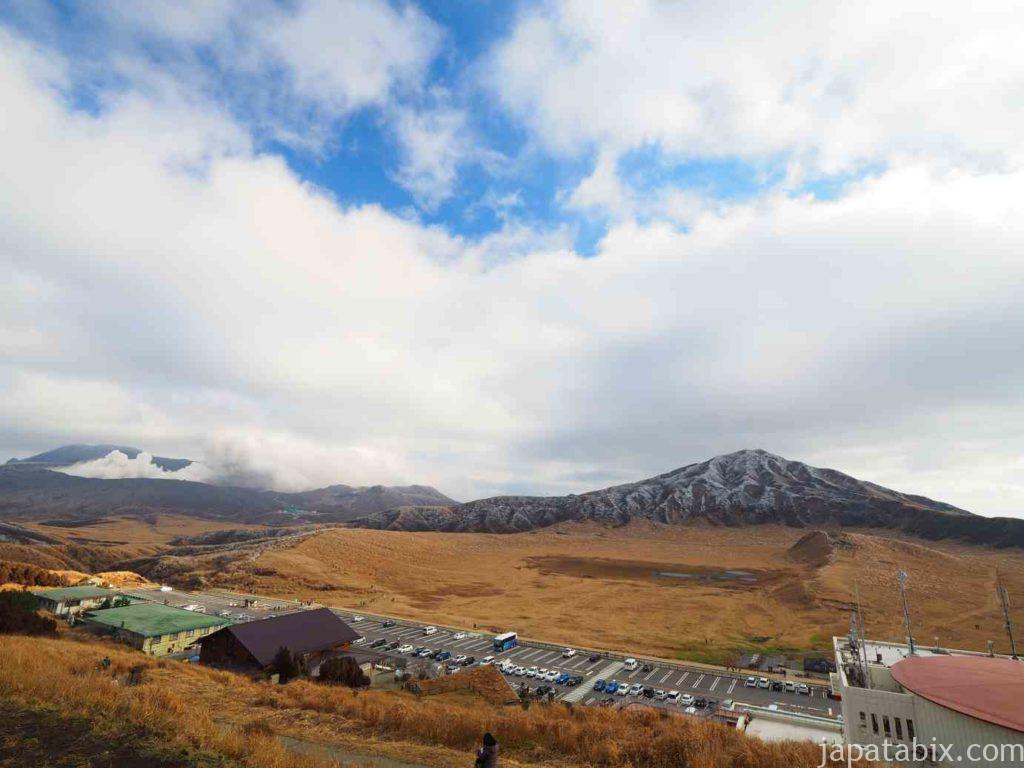 熊本 草千里展望所からの眺め