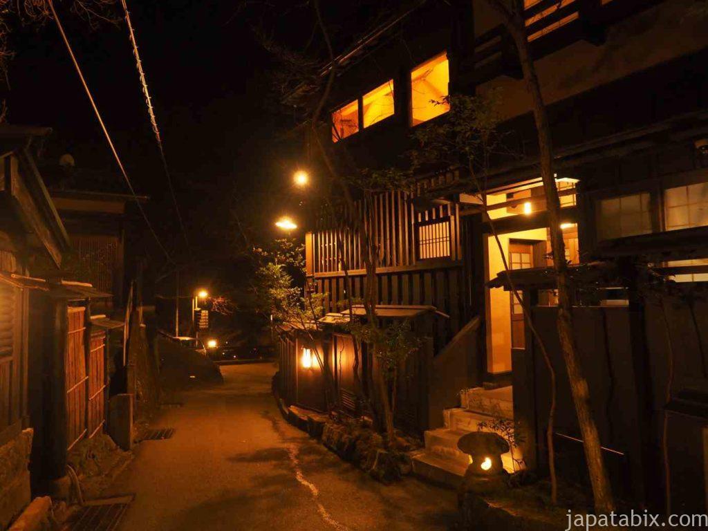 熊本 黒川温泉の街並み